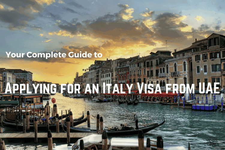 Applying for an Italy visa from UAE