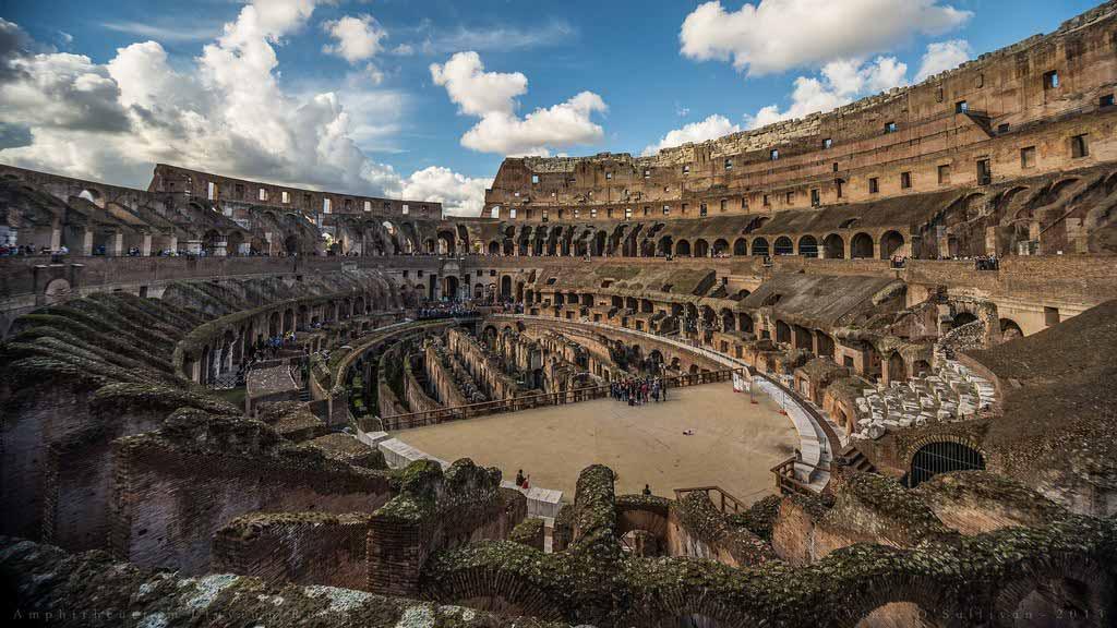 Colosseum roman amphitheatre