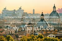 Italy Visa in Dubai