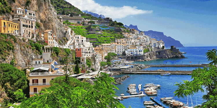 Drive around the Amalfi Coast