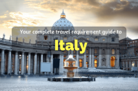 Travel requirement guide to Italy