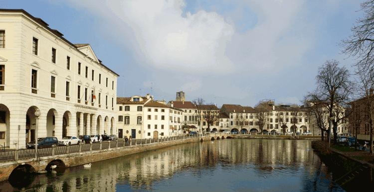 Venetian architecture in Treviso, Italy