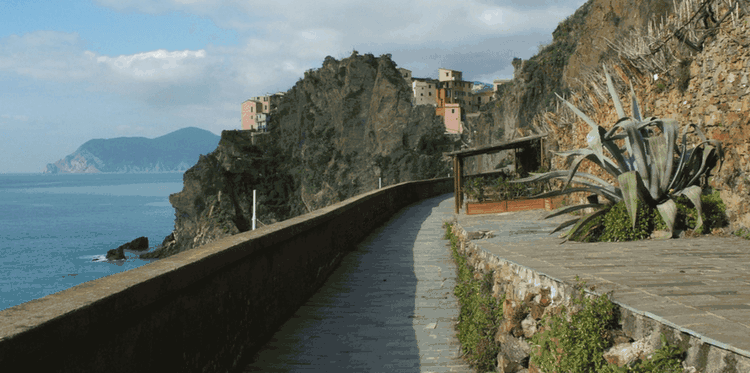 Penza and spectacular views from the via dell'Amore