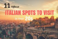 Italian Spots to Visit in Your 20s