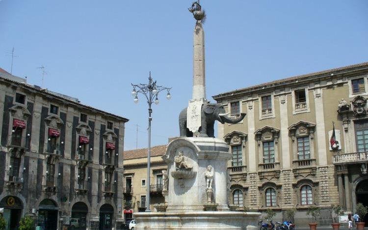 Fontana dell'Elefante - Catania, Sicily
