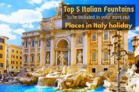 Top 5 Italian Fountains