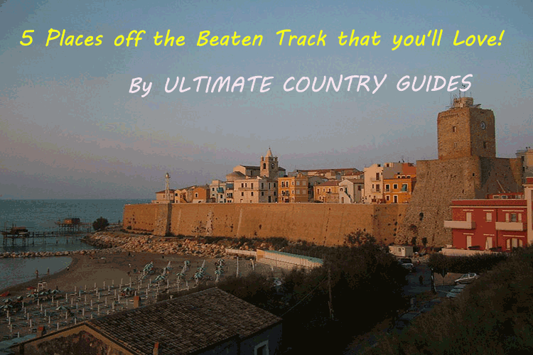 5 Places off the beaten track