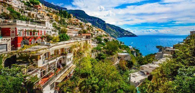 Amalfi colourful coastal townships of italy