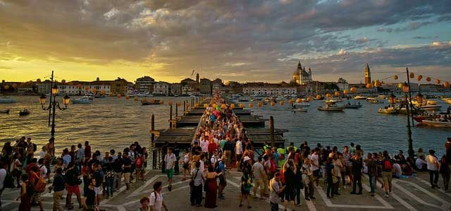 November is the best month to visit Venice